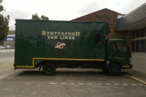 Stuttaford Van Lines George Moving Truck