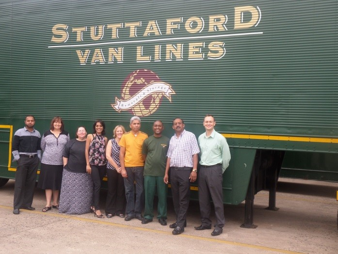 Stuttaford Van Lines Team